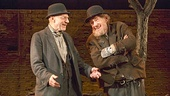 Patrick Stewart as Vladimir & Ian McKellen as Estragon in Waiting For Godot
