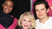 "Joan Rivers knows what's ""in"" on Broadway: Romeo and Juliet, starring Condola Rashad and Orlando Bloom!"