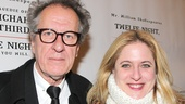 Richard III and Twelfth Night opening – Geoffrey Rush – Lisa Lambert