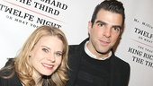 Richard III and Twelfth Night opening – Zachary Quinto – Celia Keenan-Bolger