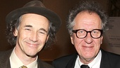 Richard III and Twelfth Night opening – Mark Rylance – Geoffrey Rush