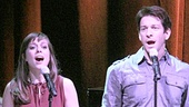 "Margo Seibert and Andy Karl join voices to sing of their character's yearning for ""Happiness."""