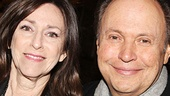 Forty-three years of marriage, and they're still going strong! Adoring couple (and co-producers!) Janice and Billy Crystal beam on opening night of 700 Sundays.