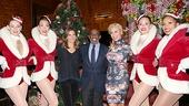 Radio City Christmas Spectacular 2013 opening – Ashley Kasunich – Kristina Larson Hauk – Natalie Morales – Al Roker – Jill Martin – Raley Zofko – Adrienne Howard