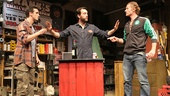 James Ransone as Packie, John Pollono as Frank & James Badge Dale as Swaino in Small Engine Repair