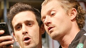 James Ransone as Packie & James Badge Dale as Swaino in Small Engine Repair