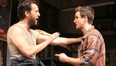 John Pollono as Frank & James Ransone as Packie in Small Engine Repair