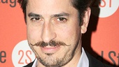Peter and the Starcatcher alum Matthew Saldivar rocks his 'stache on the red carpet.