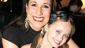 Aww! Stephanie J. Block cuddles up to her onstage daughter, Hannah Nordberg.