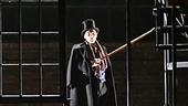 Peter Bradbury as Scrooge in A Christmas Carol
