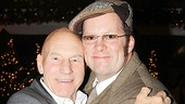Aww! Patrick Stewart and Shuler Hensley obviously love working together.