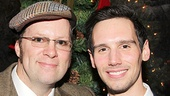 The Whale alums Shuler Hensley and Cory Michael Smith catch up at Bryant Park Grill.