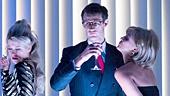 <I>American Psycho</I>: Show Photos - Cassandra Compton - Ben Aldridge - Katie Brayben - Matt Smith - Susannah Fielding - Jonathan Bailey - Gillian Kirkpatrick - Tom Kay