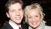 Look who came out to show her True Colors: Stark Sands  shares a snapshot with two-time Tony winner Christine Ebersole.