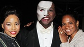 Porgy and Bess reunion! Phantom stars Heather Hill and Norm Lewis catch up with Lady Day star Audra McDonald.