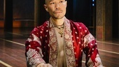 Hoon Lee as the King of Siam in The King and I