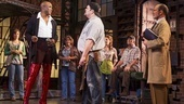 Wayne Brady as Lola, Daniel Stewart Sherman as Don and the cast of Kinky Boots.