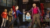 Andy Kelso as Charlie and Wayne Brady as Lola in Kinky Boots.