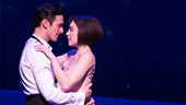 Garen Scribner as Jerry Mulligan and Leanne Cope as Lise Dassin in An American in Paris.