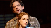 Nick Cordero as Earl and Jessie Mueller as Jenna in Waitress.