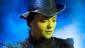 Jennifer DiNoia as Elphaba in Wicked. Photo: Matt Crockett