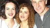 Gypsy's fab trio: Tammy Blanchard,Bernadette Peters and John Dossett.