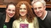 Gypsy stars Tammy Blanchard, Bernadette Peters and John Dossett with their award-winning CD.
