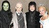 Liza Minnelli at Wicked - Idina Menzel - Joel Grey - Liza Minnelli - Kristin Chenoweth