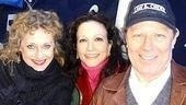 Carol Kane with Here Lies Jenny star Bebe Neuwirth and Hairspray lead Michael McKean.