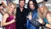 Hugh Jackman at ROA  Amy Spanger  Hugh Jackman  Constantine Maroulis  James Carpinello