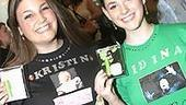 Wicked Sephora Event - fans - Kate - Sarah