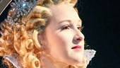 Erin Mackey as Glinda in Wicked.