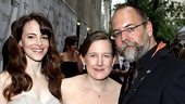 2010 Tony Awards Red Carpet  Maria Dizzia  Sarah Ruhl  David Zinn