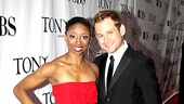 2010 Tony Awards Red Carpet  Montego Glover  Chad Kimball