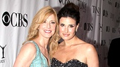 2010 Tony Awards Red Carpet  mom  Idina Menzel