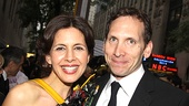 2010 Tony Awards Red Carpet  Jessica Hecht  Stephen Kunken