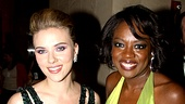 2010 Tony Winners Circle  Scarlett Johansson  Viola Davis