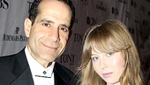 Lend Me a Tenor's Tony Shalhoub has the ideal date for this fabulous fete—daughter Josie.