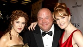 2010 Tony Awards Red Carpet  Bernadette Peters  Chamberlin  Kate Baldwin