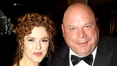 2010 Tony Awards Red Carpet  Bernadette Peters  Kevin Chamberlin 
