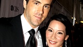 2010 Tony Awards Red Carpet  Ryan Reynolds  Lucy Liu