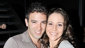 Jersey Boys 2,000th Performance  Jarrod Spector  Sara Schmidt