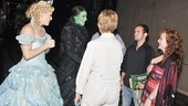 Wicked 5 Millionth Audience Member  Katie Clarke  Mandy Gonzalez  Gloria LaTorre  Brett LaTorre  Eden Roberts