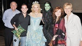 Wicked 5 Millionth Audience Member  Donald LaTorre  Brett LaTorre  Katie Rose Clarke  Mandy Gonzalez  Eden Roberts  Gloria LaTorre