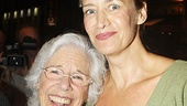 Two lovely Broadway leading ladies, Frances Sternhagen and Janet McTeer (she's from Newcastle!) get together on the red carpet.