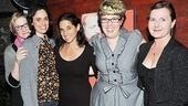 Gatz Opening Night Party – Annie McNamara – Victoria Vazquez –Susie Sokol – Kate Scelsa – Laurena Allen