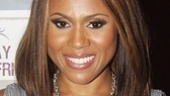 Deborah Cox gives us a departing look at her superstar smile.