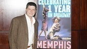 Memphis First Anniversary on Broadway  Michael McGrath