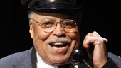 James Earl Jones as Hoke Colburn in Driving Miss Daisy.
