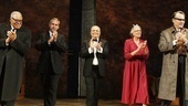 Driving Miss Daisy Opening Night – David Esbjornson – James Earl Jones – Alfred Uhry – Vanessa Redgrave – Boyd Gaines (curtain call)